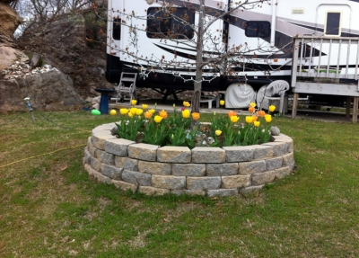 Signs of Spring at Riverview RV Park