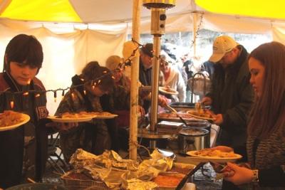 Riverview RV Park, Sand Springs, Oklahoma - Thanksgiving Feast
