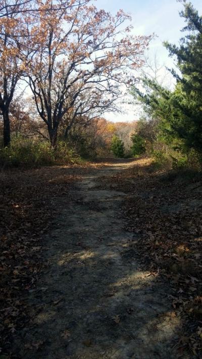 Riverview RV Park, Sand Springs, Oklahoma - Walking paths around the park