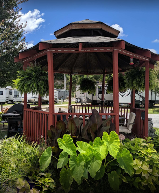 Riverview RV Park - Gazebo